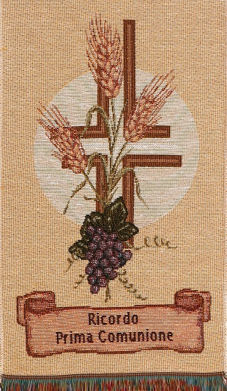 Holy Communion - Wheat & Grapes