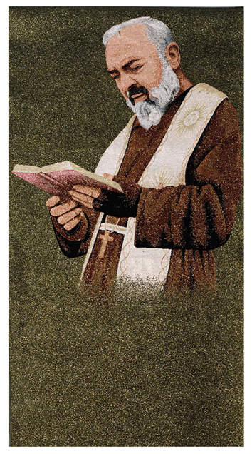 Father Pio with Book