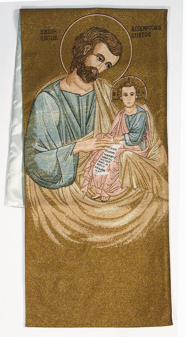 Saint Joseph & Jesus (Byzantine)