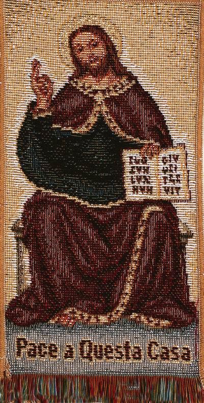 Christ w Book