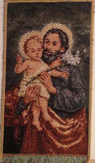 St. Joseph holding Jesus