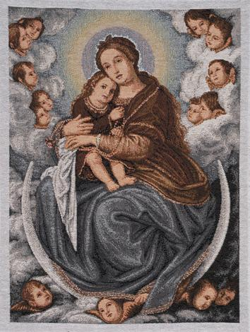 Madonna with Infant (G.B. Salvi)