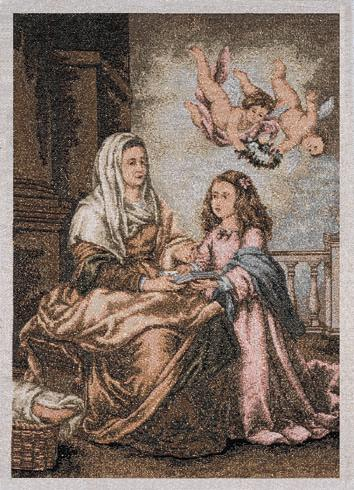 St. Anne with Infant Mary (Murillo)