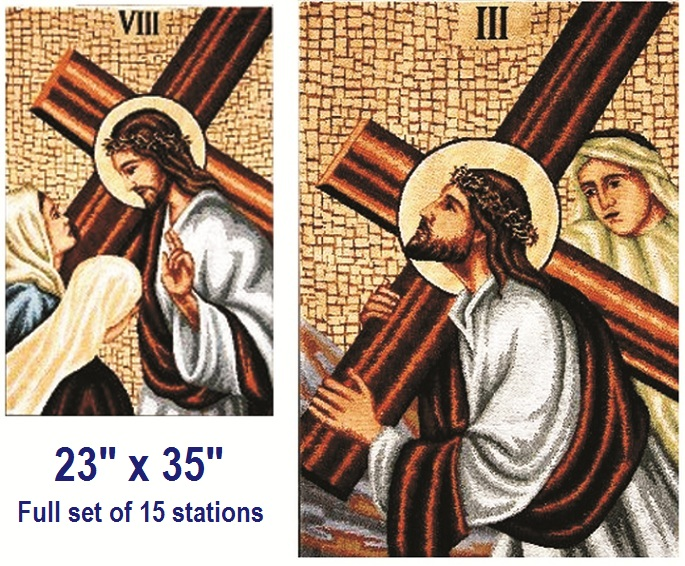Stations of the Cross with Tabs