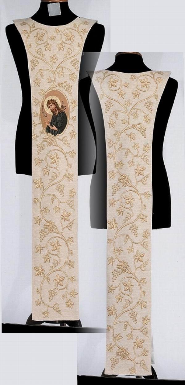 Saint John the Baptist (w cross & grapes)