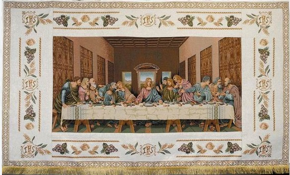 The Last Supper 6ft x 4ft