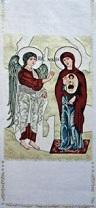 Angel & Mary Annunciation of Kiko