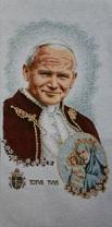 Pope John Paul II Beatification with OLO Totus Tuus