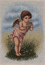 Cupid with Musical Instrument