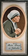 Mother Teresa (1/2 bust - oval)