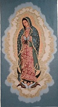 Our Lady of Guadalupe (Special Gold Lame' Relief)