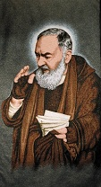 St. Padre Pio (w letter)