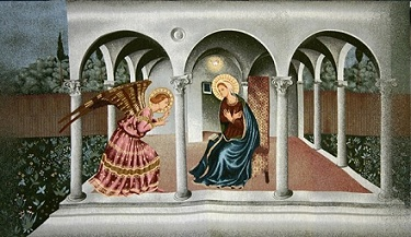 Annunciation by Angelico