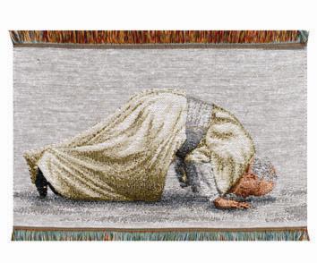 Pope John Paul (kissing ground)