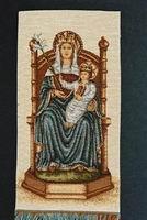 Madonna on Throne
