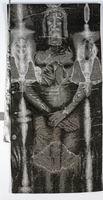 Sacred Shroud (black background)