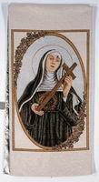 St. Rita with Cross