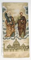 Saints Peter & Paul with St. Peter Cathedral, Rome