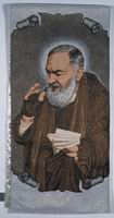 St. Father Pio with Letter