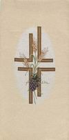 Grapes, Wheat and Cross