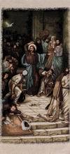 Jesus Chastising the Money Changers