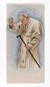 Pope JP II w/ Greeting