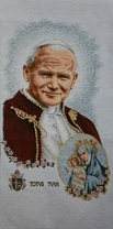 Pope John Paul II Beatification with OLO Totus Tuus