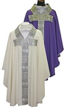 Chasuble with Silver Band