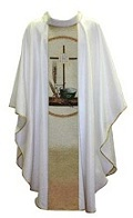 DAMASK with SC08 Eucharist Symbol