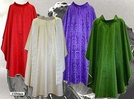 Damask in all Liturgical colors