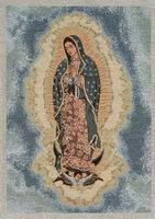 Our Lady of Guadalupe (full in clouds)
