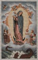 Our Lady of Guadalupe (Large w Baby)