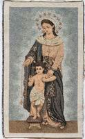 Madonna with Infant and Rosary