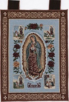 Our Lady of Guadalupe with Apparitions