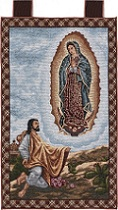 Our Lady Of Guadalupe w Juan Diego