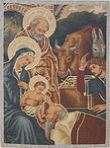 Nativity with adoration of the Magi