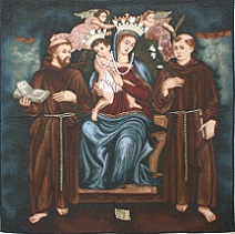 Virgin with Friars