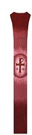 Alpha Omega Cross (Red)